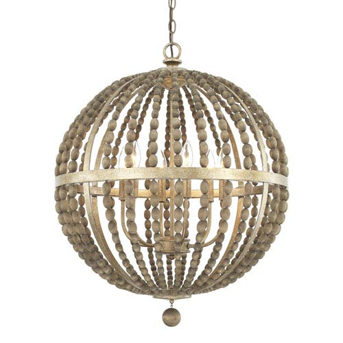 Capital Lighting Fixture Company Donny Osmond Lowell Tuscan Bronze Six Light Pendant