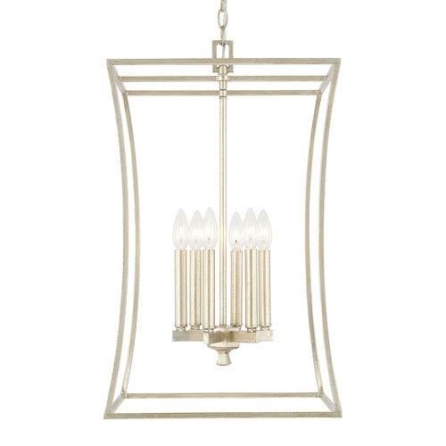 Capital Lighting Fixture Company Westbrook Winter Gold Six-Light Foyer