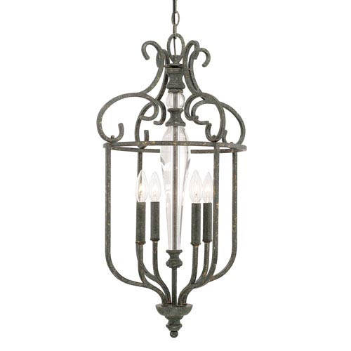 Everleigh French Greige Four-Light Foyer