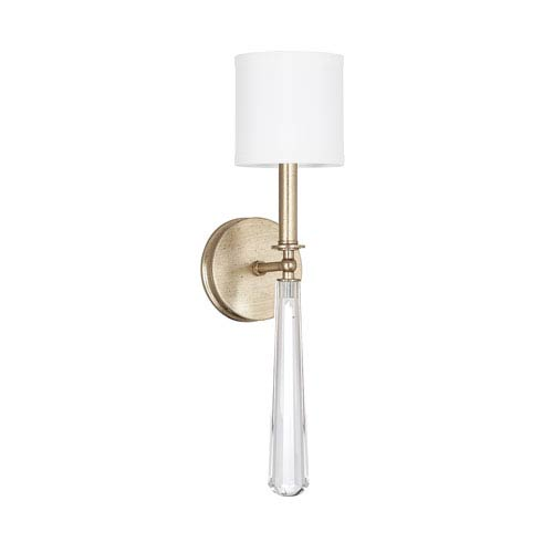 Mercer Winter Gold 21-Inch One-Light Sconce