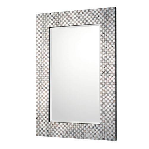 Embossed Metallic Mirror