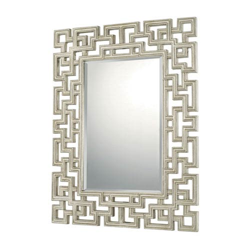 Mirrors Winter Gold 34-Inch Rectangular Mirror