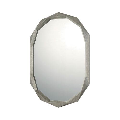 Capital Lighting Fixture Company Mirrors Antique Silver Oval Mirror