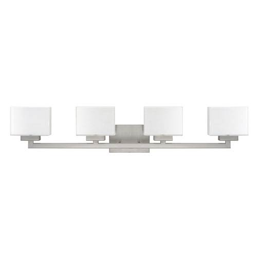 Tahoe Brushed Nickel Four-Light Vanity