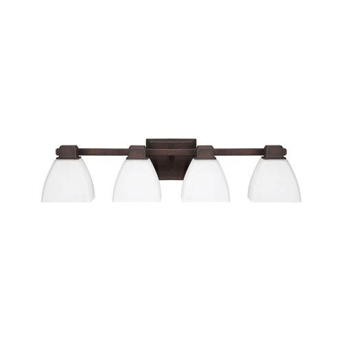 Capital Lighting Fixture Company Burnished Bronze Four Light Vanity Fixture