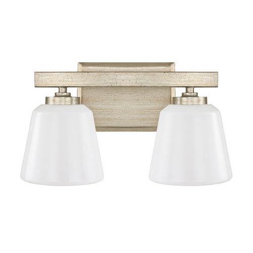Capital Lighting Fixture Company Berkeley Winter Gold Two-Light Vanity