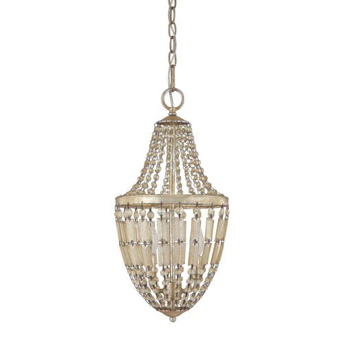 Fifth Avenue Winter Gold Two-Light Pendant