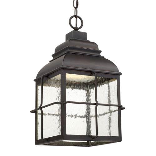 Lanier Old Bronze One-Light LED Hanging Lantern