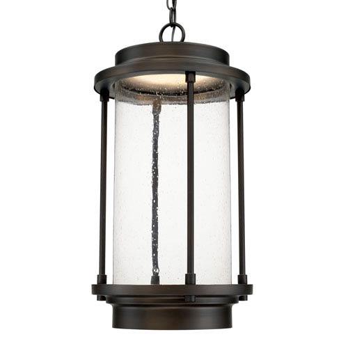 Grant Park Old Bronze One-Light LED Hanging Lantern