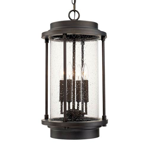 Grant Park Old Bronze Four-Light Hanging Lantern