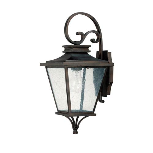 Gentry Old Bronze Outdoor Wall Lantern