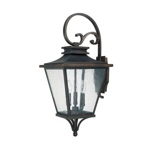 Lighting Fixture Companies: Capital Lighting Fixture Company Gentry Old Bronze Three