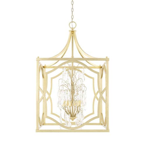 Blakely Capital Gold 23-Inch Six-Light Pendant