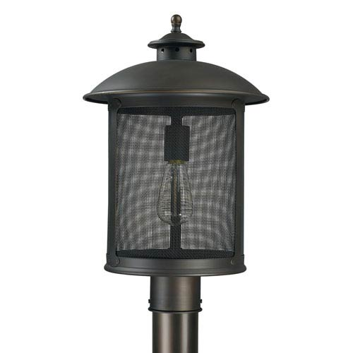 Capital Lighting Fixture Company Dylan Old Bronze One-Light Outdoor Post Mount