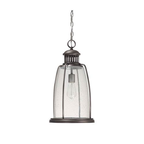 Capital Lighting Fixture Company Harbour Graphite One Light Hanging Lantern