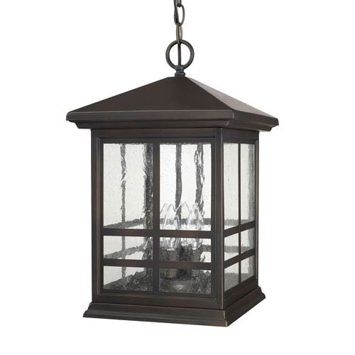 Preston Old Bronze Four-Light Hanging Lantern