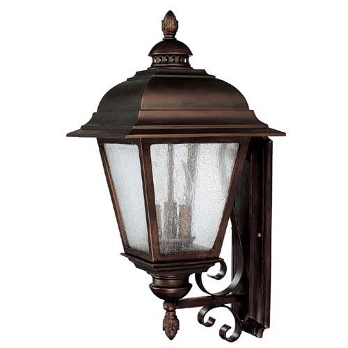 Outdoor Lighting Company: Capital Lighting Fixture Company Brookwood Large Burnished