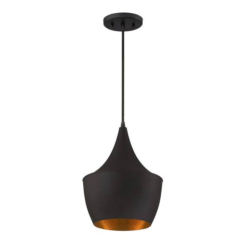 Espresso One-Light 9.5-Inch  Mini Pendant
