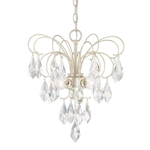 Chloe Winter Gold Four-Light 16-Inch Mini Chandelier