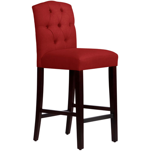 Tufted Arched Counter Stool