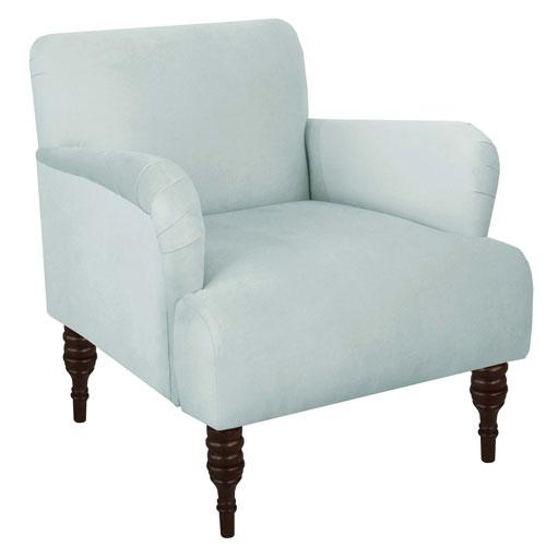 Velvet Pool 33-Inch Chair