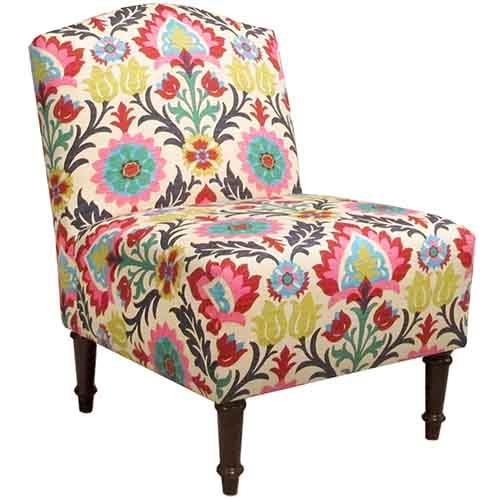 Santa Maria Desert Flower Camel Back Chair