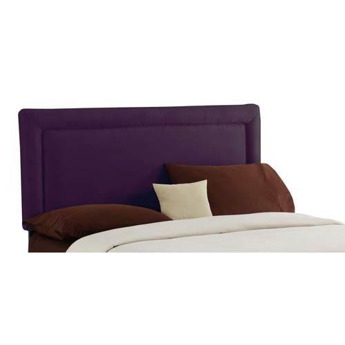 Border King Headboard - Premier Purple