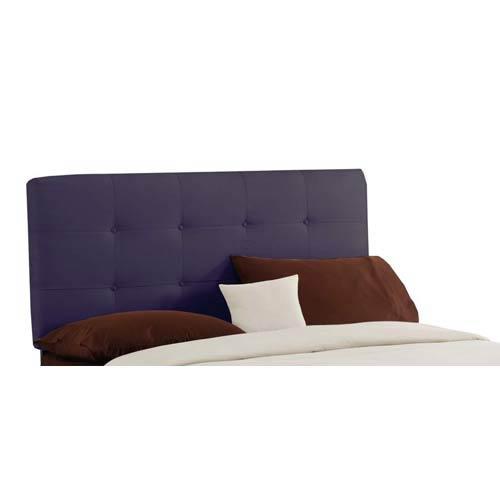 Tufted King Headboard - Premier Purple