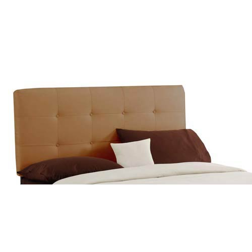 Tufted King Headboard - Premier Saddle