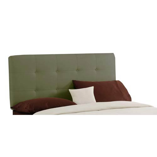 Tufted King Headboard - Premier Sage