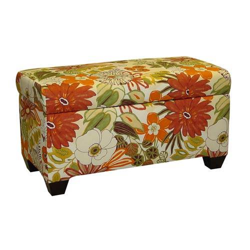 Lilith Marigold Storage Bench