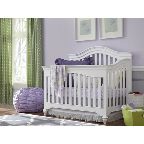 Smartstuff Furniture Classics 4.0 Summer White Convertible Crib