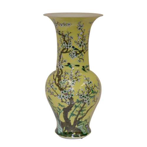 Yellow Blossom Vase