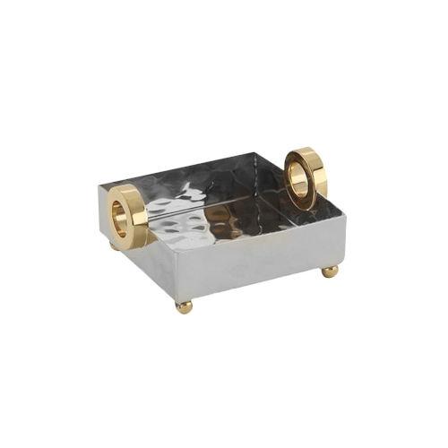 Nickel Gold Ring Nickel Cocktail Tray