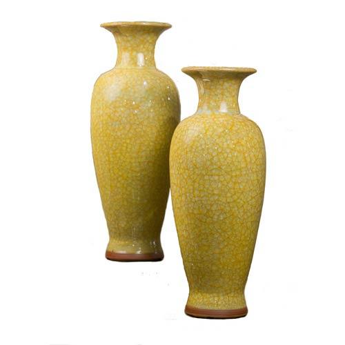 Yellow Imperial Vase