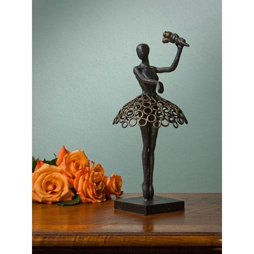 Bronze Iron Ballerina