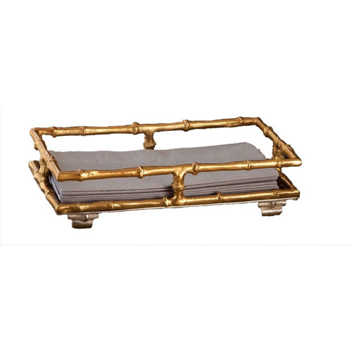 Gold Bamboo Guest Towel Holder