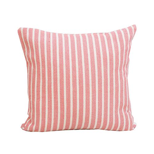Bengal Azalea Stripe 20 x 20 In. Throw Pillow
