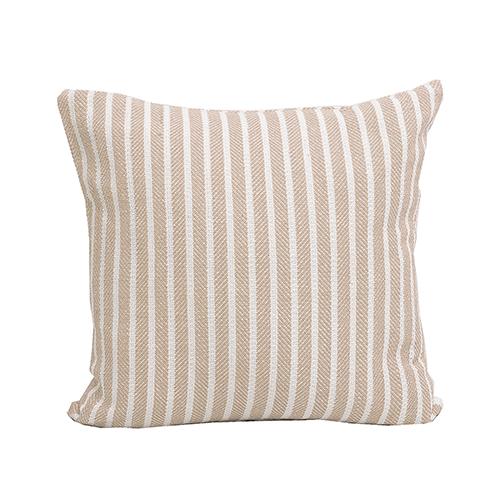 Bengal Dune Stripe 20 x 20 In. Throw Pillow