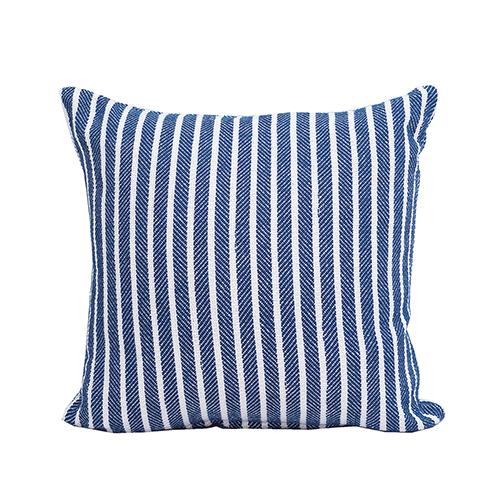 Bengal Indigo Stripe 20 x 20 In. Throw Pillow