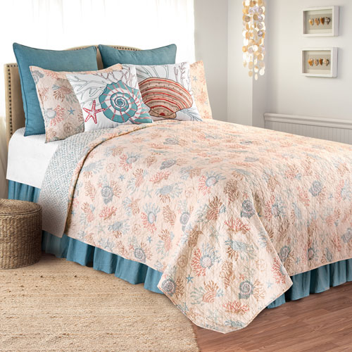 Seabrook Twin Quilt Set