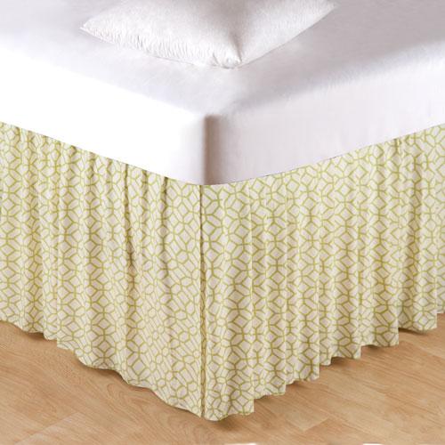 Adrienne Meadow Queen Bed Skirt