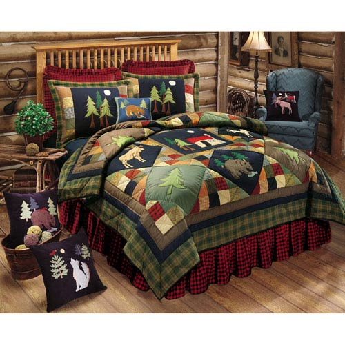 Timberline Multicolor Twin Quilt