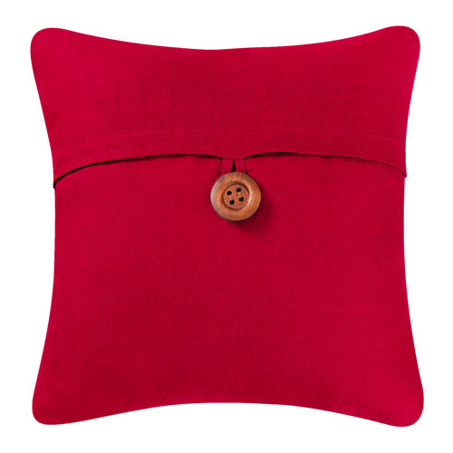 Red 18 In. Envelope Pillow