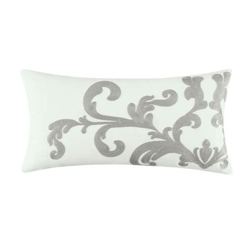 Providence Cream and Beige 12 x 24-Inch Decorative Pillow