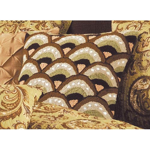 C & F Enterprises, Inc. Modesto 18x18 Inch Pillow