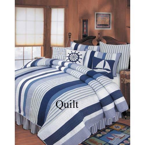C & F Enterprises, Inc. Nantucket Dream 66 x 86 Twin Quilt