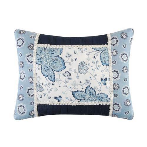 C & F Enterprises, Inc. Chesapeake Bay 12 x 16 Floral Pillow with Medallion Border