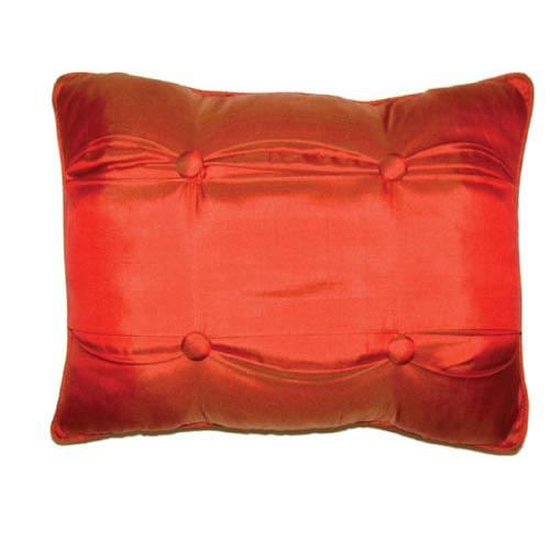 C & F Enterprises, Inc. Red Carlisle 12 x 16 Silk Pillow