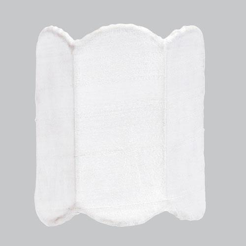 White Double Scallop Nightlight